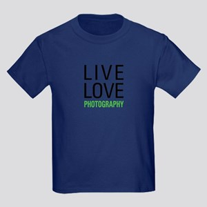 Photography Kids Dark T-Shirt