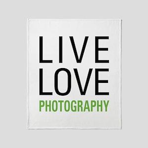 Photography Throw Blanket
