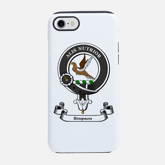 Badge-Simpson [Udoch] iPhone 7 Tough Case