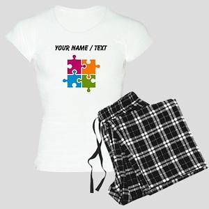 Custom Puzzle Pieces Pajamas