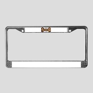 Hang Loose Club Logo License Plate Frame