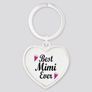 Best Mimi Ever Heart Keychain