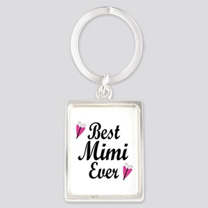 Best Mimi Ever Portrait Keychain