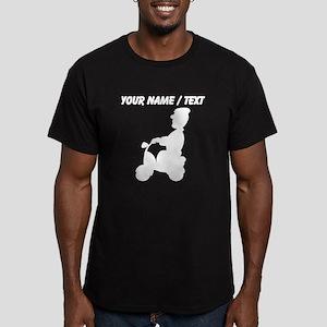 Custom Man On Scooter T-Shirt