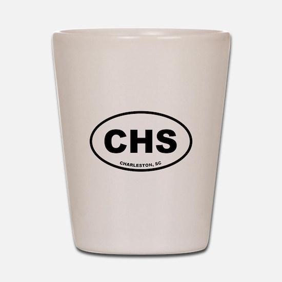 Charleston CHS Shot Glass