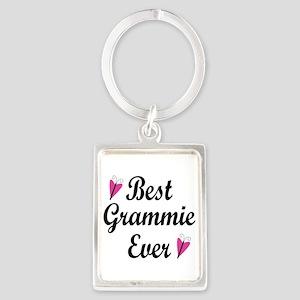 Best Grammie Ever Portrait Keychain