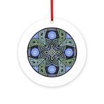 Celtic UFO Mandala Ornament (Round)