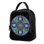 Celtic UFO Mandala Neoprene Lunch Bag