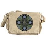 Celtic UFO Mandala Messenger Bag