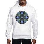 Celtic UFO Mandala Hooded Sweatshirt