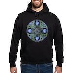 Celtic UFO Mandala Hoodie (dark)