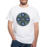 Celtic UFO Mandala White T-Shirt