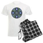 Celtic UFO Mandala Men's Light Pajamas