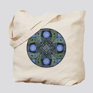 Celtic UFO Mandala Tote Bag