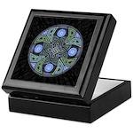 Celtic UFO Mandala Keepsake Box