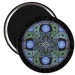 Celtic UFO Mandala Magnet