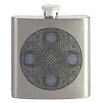 Celtic UFO Mandala Flask