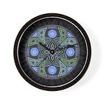 Celtic UFO Mandala Wall Clock