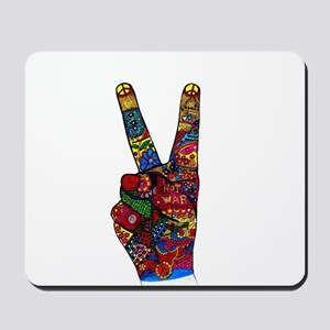 Make Peace Not War Mousepad