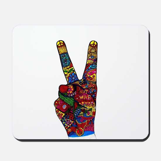 Make Peace Not War Mousepad