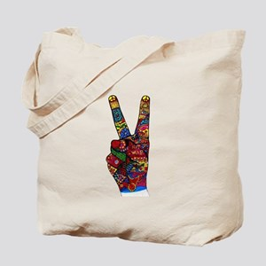 Make Peace Not War Tote Bag