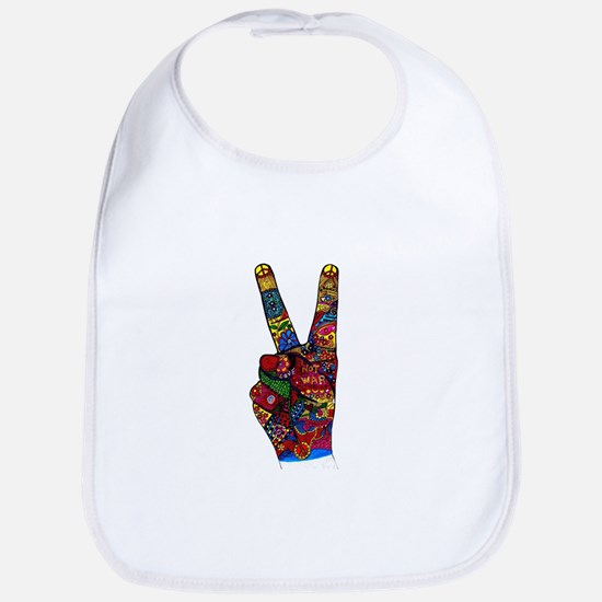 Make Peace Not War Bib