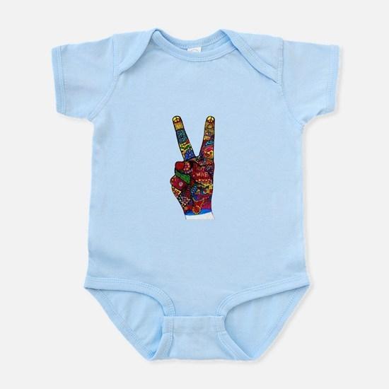 Make Peace Not War Body Suit