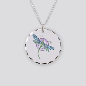 Whimsical Dragonfly Necklace