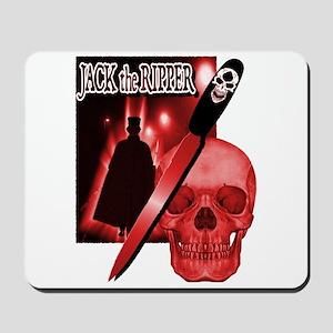 Jack's Back Red Mousepad