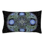 Celtic UFO Mandala Pillow Case