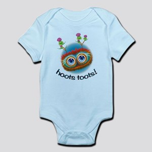 Hoots Toots Haggis! Infant Bodysuit