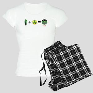 Hulk Emoji Women's Light Pajamas