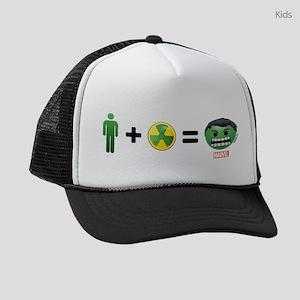 Hulk Emoji Kids Trucker hat