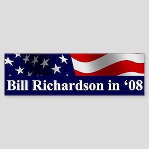 Richardson 08 Bumper Sticker