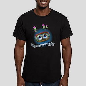 Hoots Toots Haggis 'Hu Men's Fitted T-Shirt (dark)