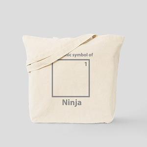 The Atomic System Of Ninja Tote Bag