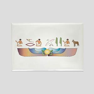 Shepherd Hieroglyphs Rectangle Magnet
