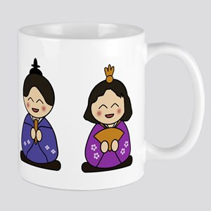 Japanese Girls Day Dolls Mugs