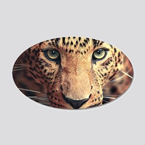 Leopard Portrait Wall Decal