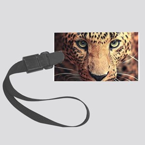 Leopard Portrait Luggage Tag