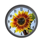 Large Sunflower Wall Clock