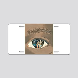 The Mystery of Christ Aluminum License Plate