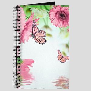 Pink Butterflies Journal