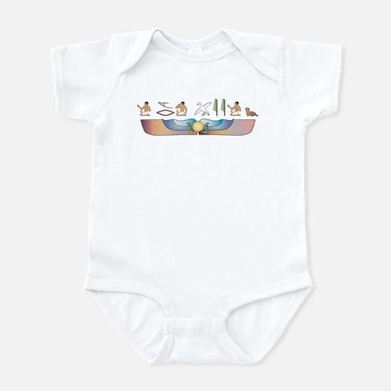 Dandie Hieroglyphs Infant Bodysuit