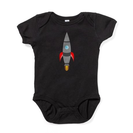 Rocket Ship Baby Bodysuit