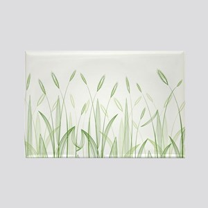 Delicate Grasses Magnets