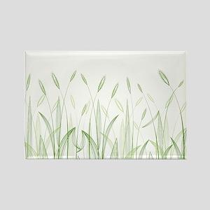 Delicate Grasses Magnets
