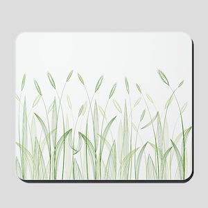 Delicate Grasses Mousepad