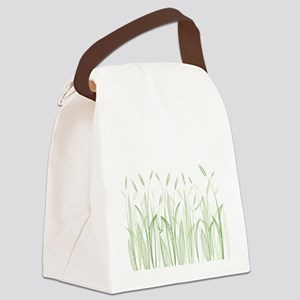 Delicate Grasses Canvas Lunch Bag