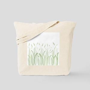 Delicate Grasses Tote Bag